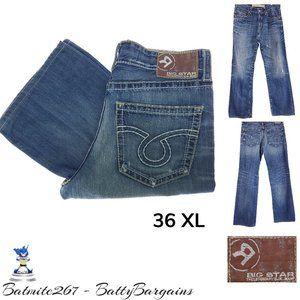36XL BIG STAR Pioneer Mens Boot CUT Jeans